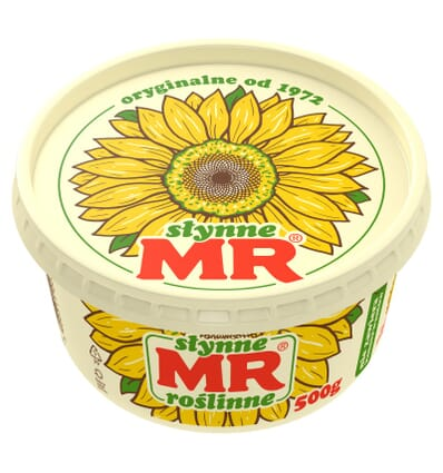 Margarine MR Slynne Roslinne 500g