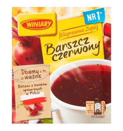 30x Zupa Barszcz czerwony Winiary 60g