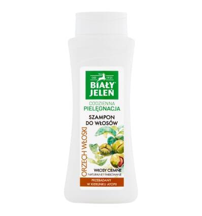 Hypoallergenic shampoo for dark hair Bialy Jelen 300ml