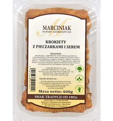 Croquettes Champignons et fromage Marciniak 350g