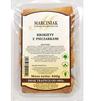 Krokiety z pieczarkami Marciniak 350g