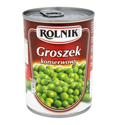 Canned green peas Rolnik 400g