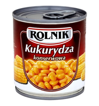 Maïs en grains en conserves Rolnik 340g